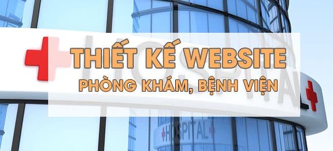 Thiết kế website bệnh viện, phòng khám chuyên nghiệp