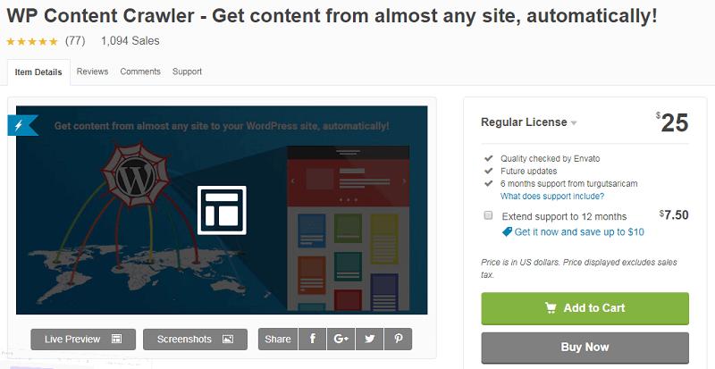 Top 3 plugins lấy dữ liệu tự động của website khác về web mình
